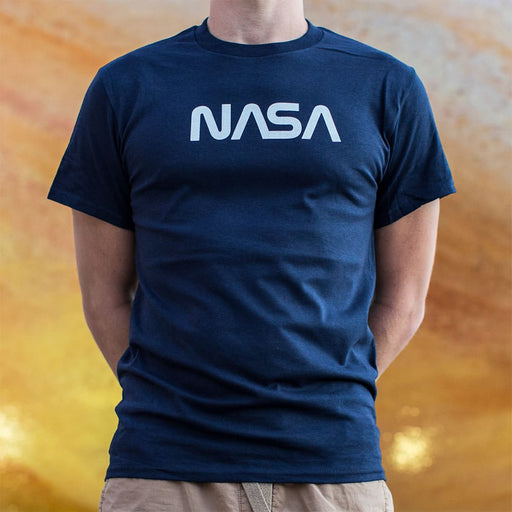 Mens NASA T-Shirt - Patriotic Faith