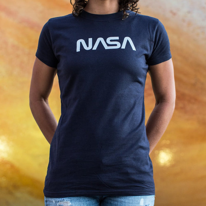 Ladies NASA T-Shirt - Patriotic Faith