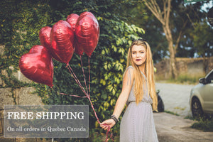 Free Shipping on all orders in Quebec Canada