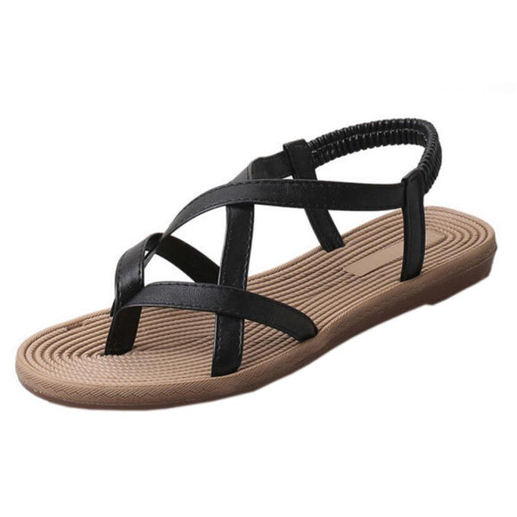 Women Sandals Flat With Shoes Bandage Bohemia Leisure Lady Sandals