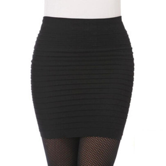 JECKSION Fashion Womens Elastic Package Hip High Waist Short Skirt Girls 2016 New  shipping