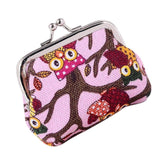 women's Wallets Lovely Style Lady Owl Purse female Small Hasp Wallet carteira feminina#XTJ