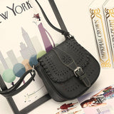 2016 Handbags Fashion Women Leather Tote Handbag Satchel Hollow Out Bag Women Shoulder Bgs Crossbody  bolsa feminina para muje
