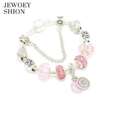 Elegant jewelry gift fashion charm cute Mickey models Pendant Pandora charm bracelet for women - Jewelry Paradise