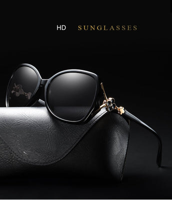 Oversized Sunglasses Big Eye Glasses for Women 2019 Gafas Polarizadas Mujer Vintage Style Glasses - Jewelry Paradise