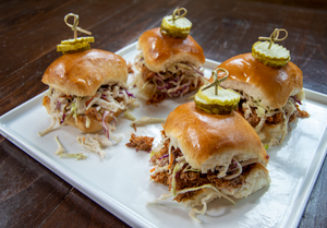 Pulled Pork Slider Party Platter
