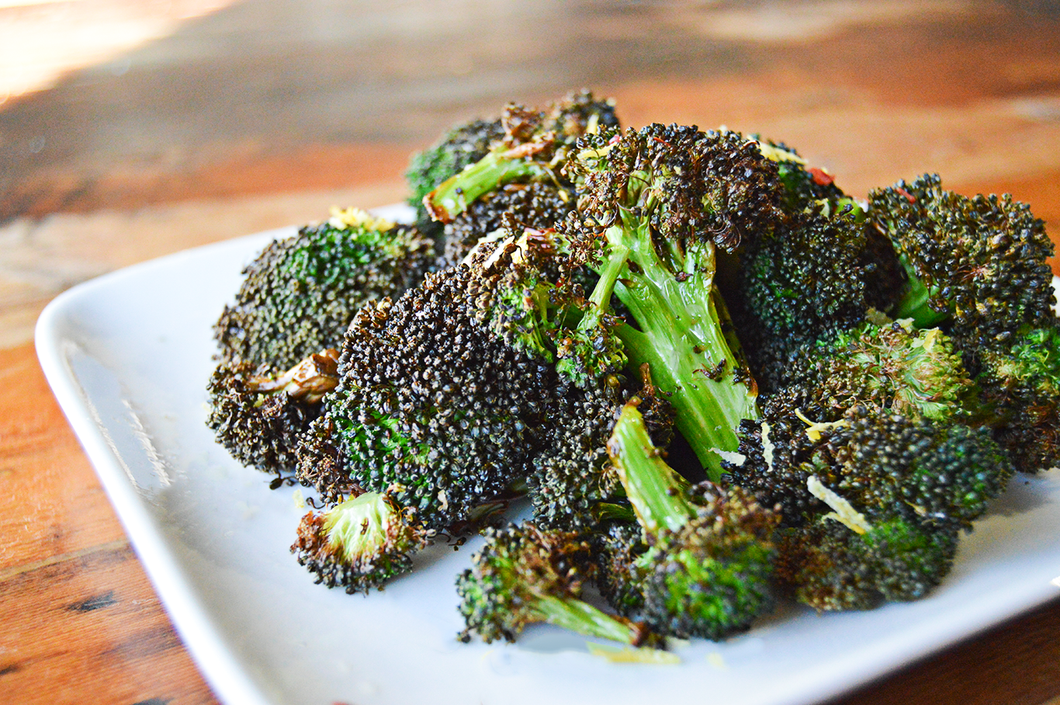Charred Broccoli with Lemon