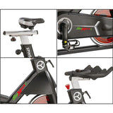 Professional Indoor Cycling Bike - Adjustable Seat and Heavy Duty Crank