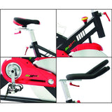 Professional Indoor Cycling Bike for Achieving Your Fitness Goals (black)