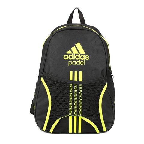 Adidas Sports Backpack for Women and Men-Club 1.7 Black/Lime-Padel Bag