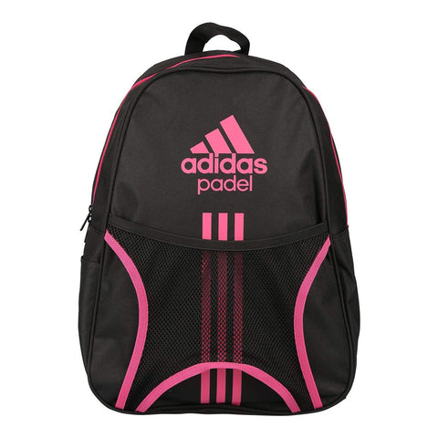 Adidas Sports Backpack for Women and Men-Club 1.7 Black/Pink-Padel Bag