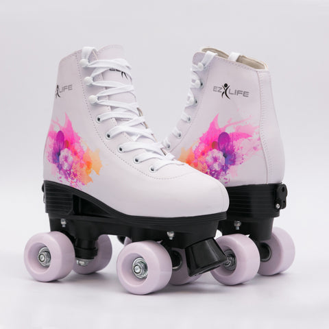 Classic Quad Roller Skates Girls & Women-Size 2.5Kids to 8.5W