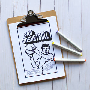 Tailgate DIY: Colouring Pages