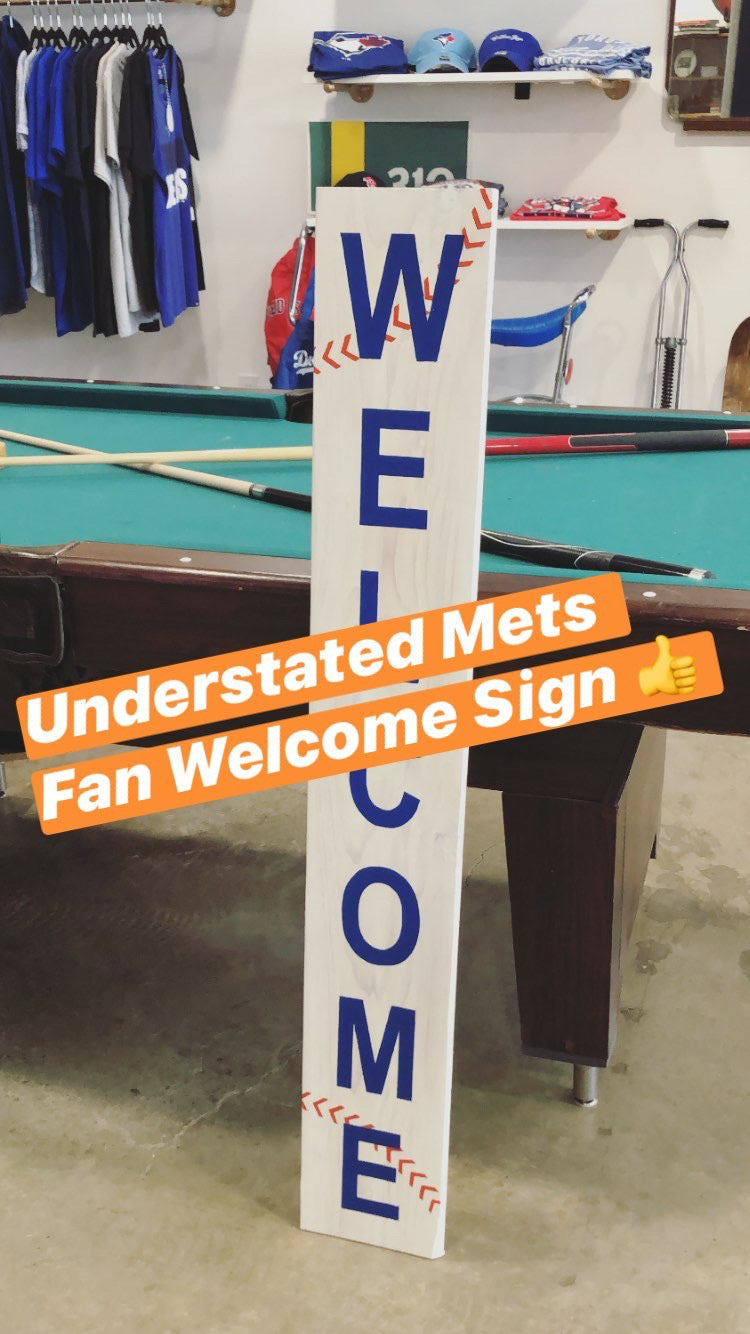New York Mets Welcome Sign