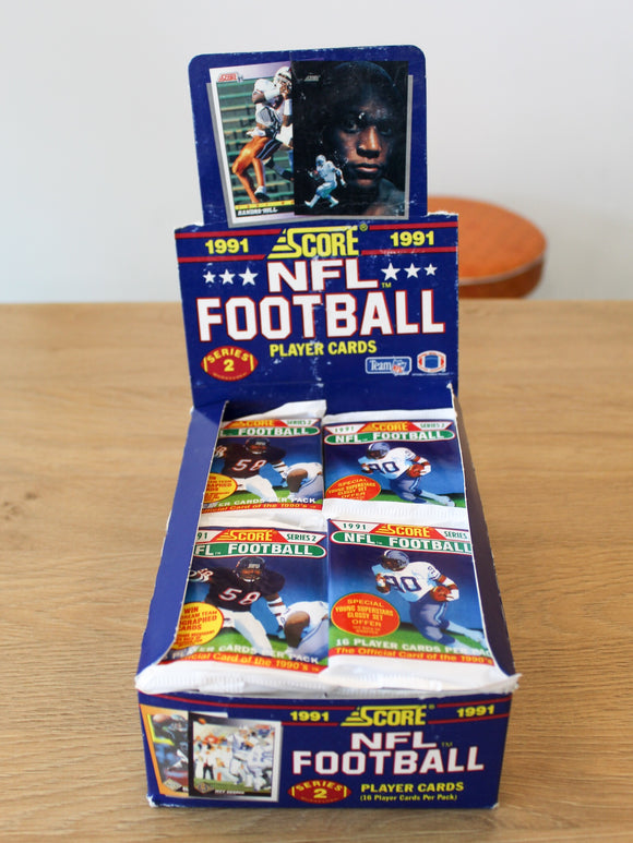Score 1991 Football Cards Series 2