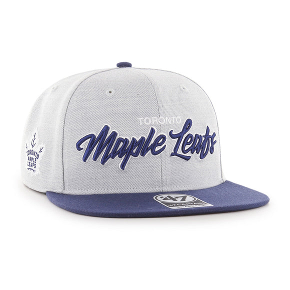 47 Street Script Captain Toronto Maple Leafs Hat