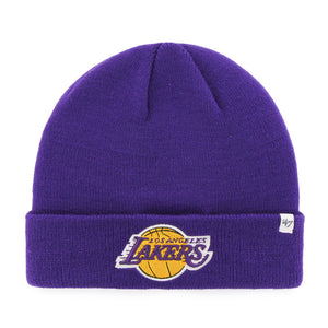 47 Raised Cuff Knit Hat - LA Lakers