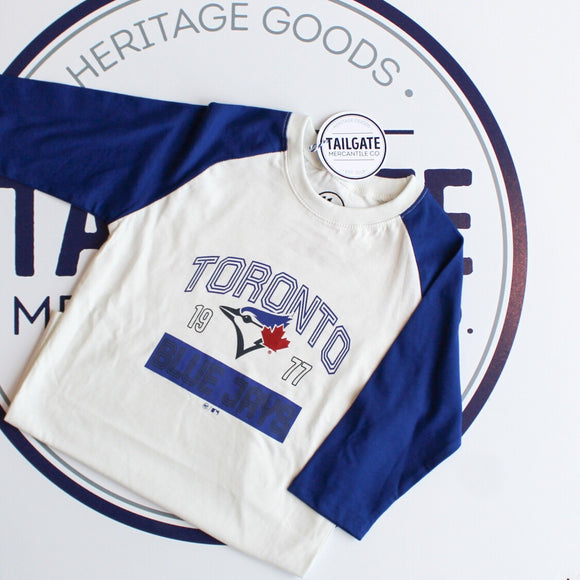 47 Super Rival Raglan Tee - Toronto Blue Jays (YOUTH)