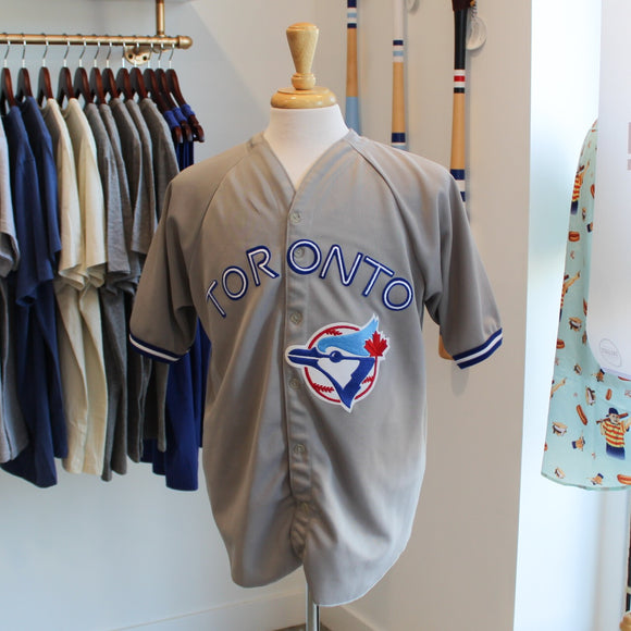 VINTAGE/PRELOVED - CCM Toronto Blue Jays Grey Jersey