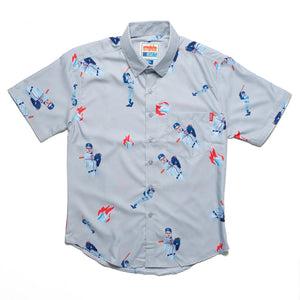 RSVLTS Brickma Hot Ice Away Short Sleeve Shirt - ADULT