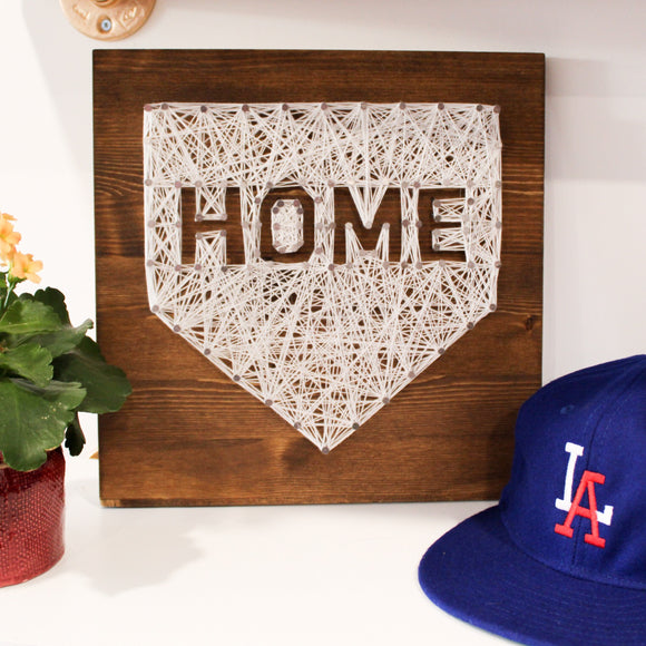 TMCo Workshop - String Art: Home Plate or Baseball