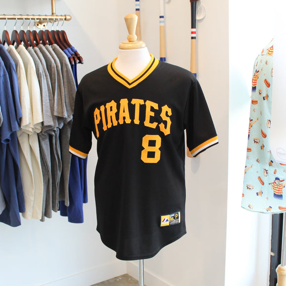 VINTAGE/PRELOVED - Majestic Pittsburgh Pirates Jersey #8 Willie Stargell