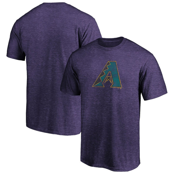 Fanatics True Classics Triblend Throwback Logo Tee Arizona Diamondbacks 1998-06