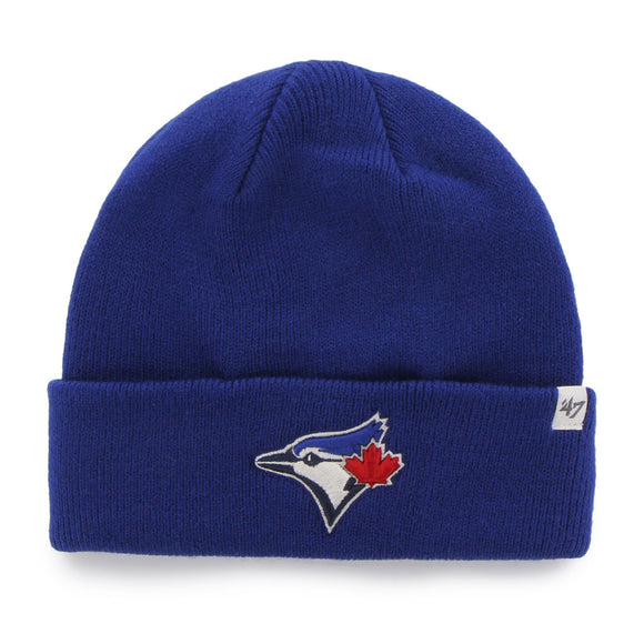 47 Raised Cuff Knit Hat Toronto Blue Jays