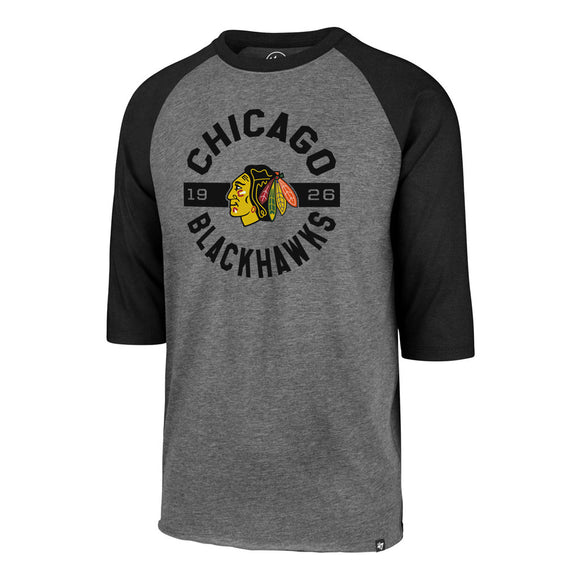 47 Roundabout Club Chicago Blackhawks Raglan