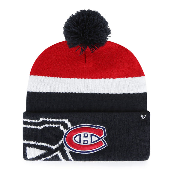 47 Mokema Cuff Knit Hat - Montreal Canadiens