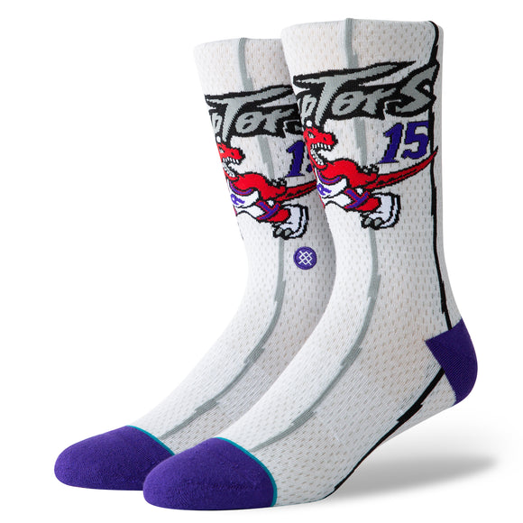 Stance Socks NBA HWC Vince Carter White
