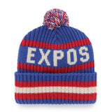 47 Bering Cuff Knit Hat Montreal Expos