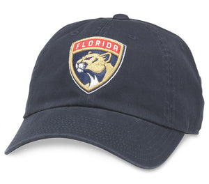 American Needle Florida Panthers Blue Line Strapback Hat