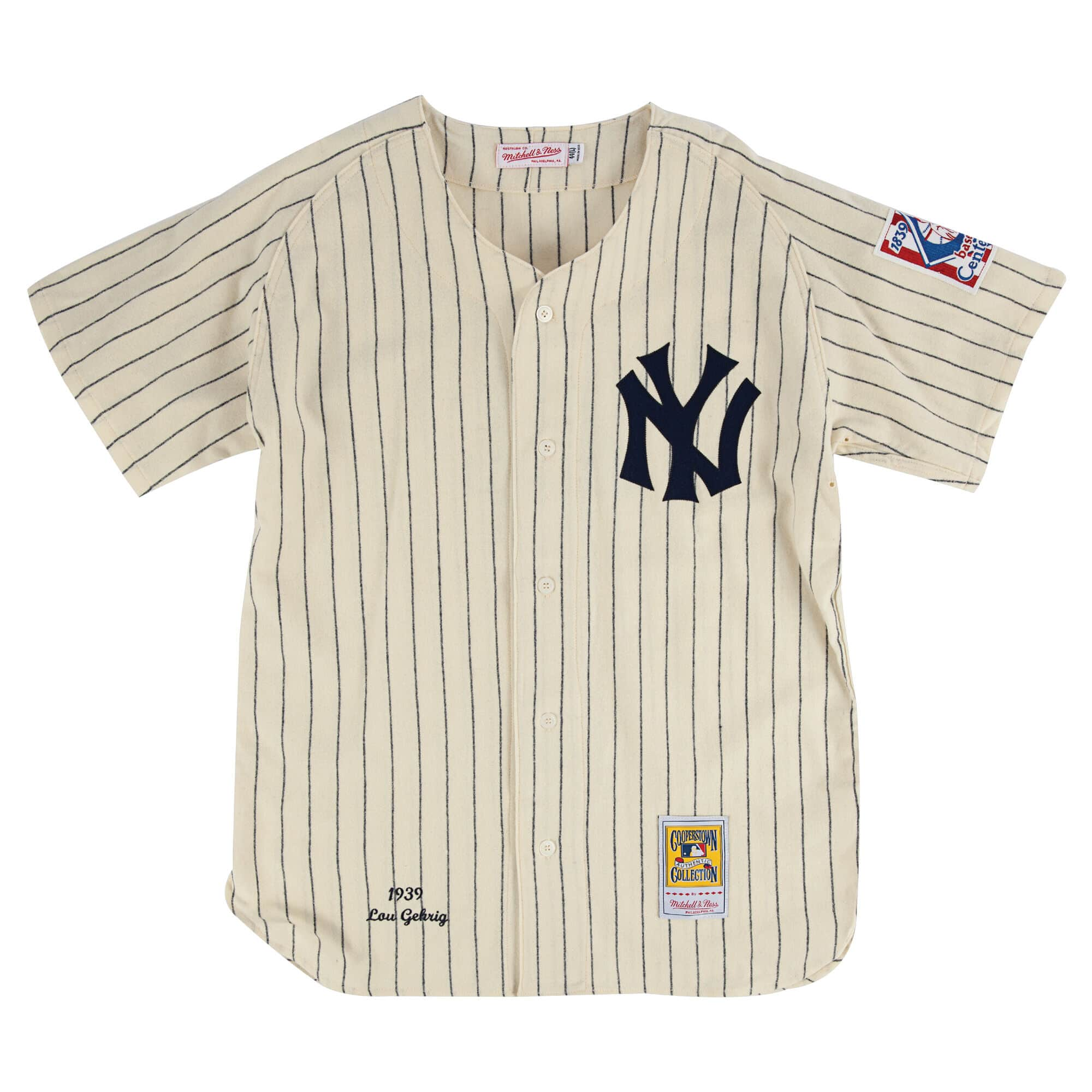 the best attitude 6d6d1 8829e M+N New York Yankees Authentic Jersey - Gehrig 4