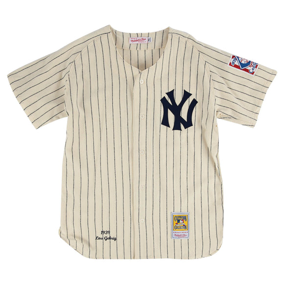M+N New York Yankees Authentic Jersey - Gehrig 4
