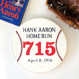 TMCo Aaron 715 Home Run Marker Painting