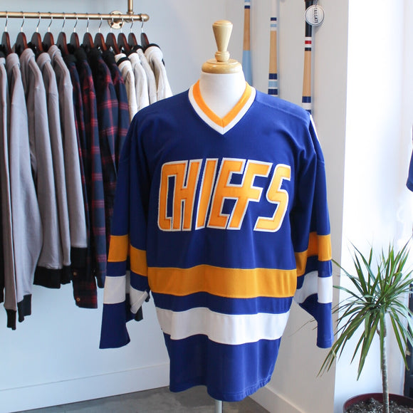 VINTAGE/PRELOVED - Madbros Charlestown Chiefs Hockey Jersey