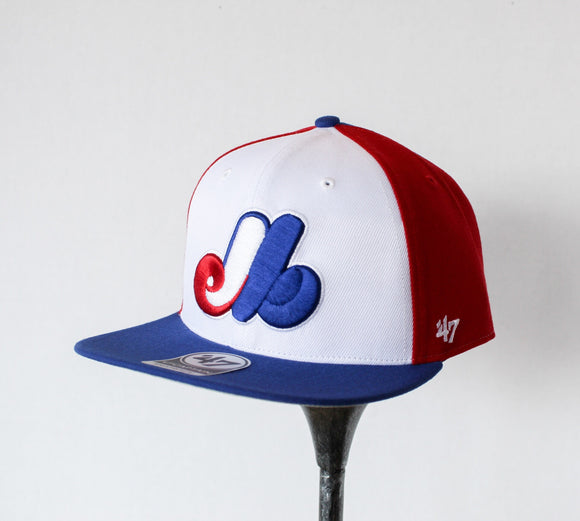 47 Amble Captain Montreal Expos Hat