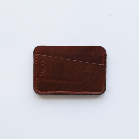 TMCo Rawlings Leather Double Card Holder Wallet