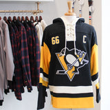 47 Lacer Hoodie - NHL Pittsburgh Penguins: 66 Mario Lemieux