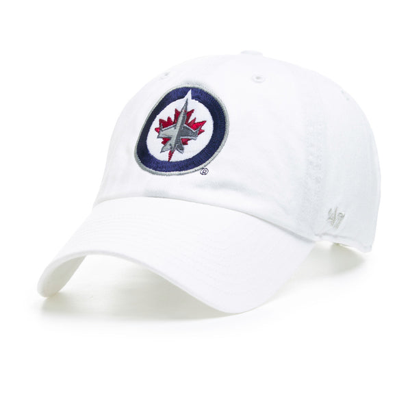 47 Clean Up Winnipeg Jets White Hat