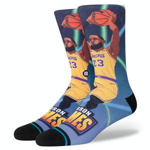 Stance Socks NBA Casual LeBron James Fastbreak