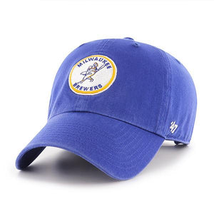 47 Cooperstown Clean Up Milwaukee Brewers 1970-77 Hat