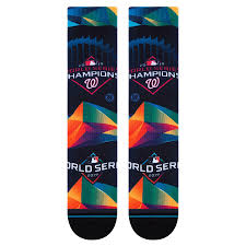 Stance Socks MLB Washington Nationals 2019 World Series Champs