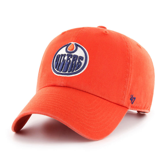 47 Clean Up Edmonton Oilers Orange Hat