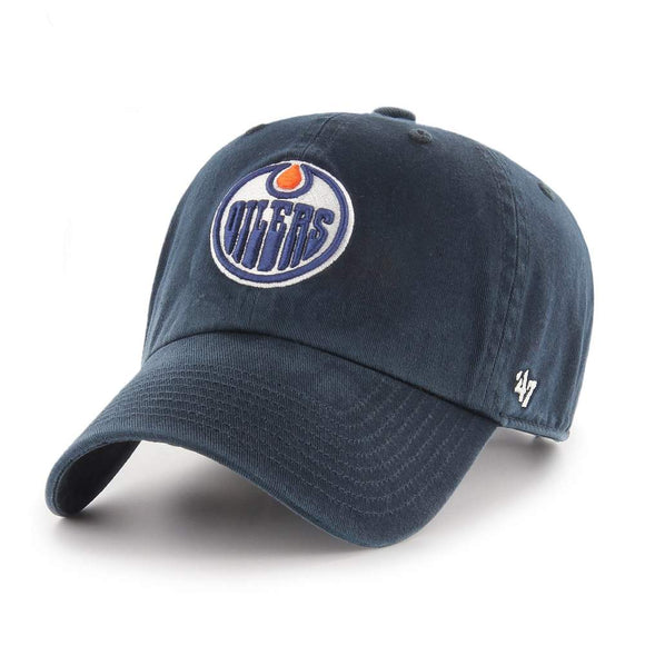 47 Clean Up Edmonton Oilers Navy Hat