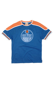 Red Jacket Edmonton Oilers Retro Remote Control Tee