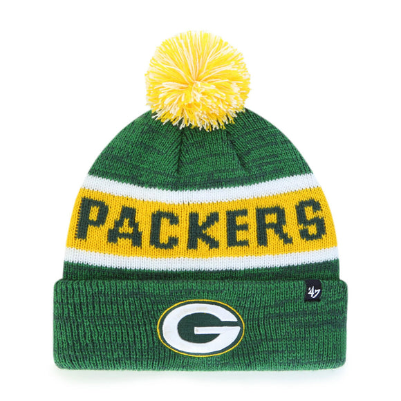 47 Tadpole Cuff Knit Hat - Green Bay Packers (Kids)