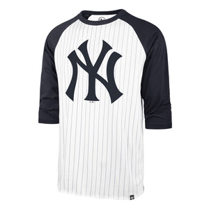 47 Pinstripe Raglan Tee - New York Yankees
