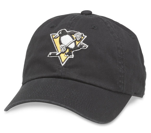 American Needle Pittsburgh Penguins Blue Line Strapback Hat